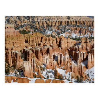 Winter in Bryce Canyon, Sunset Point, print