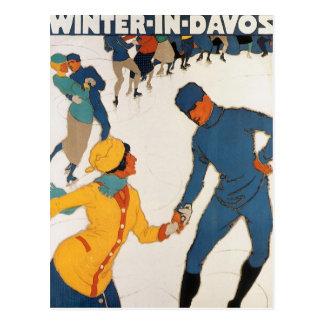 Winter In Davos Postcard