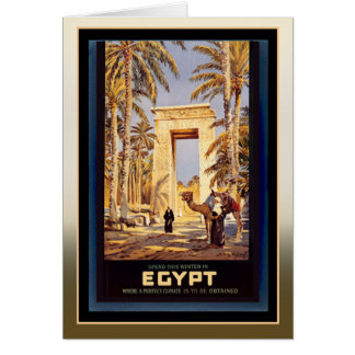 Winter in Egypt Card