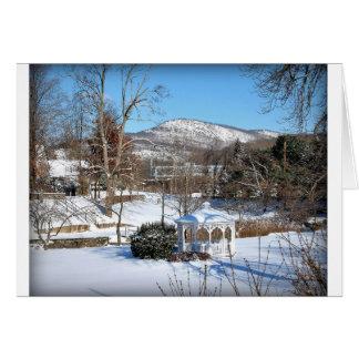 """Winter In Hillburn"" Card"