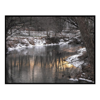 ~ Winter in Lancaster County ~ 1 Postcard
