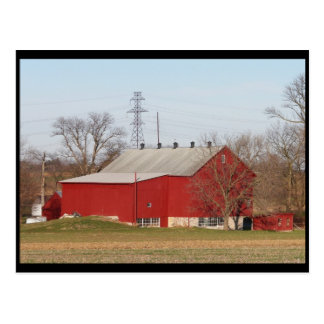 ~ Winter in Lancaster County ~ 32 Postcard