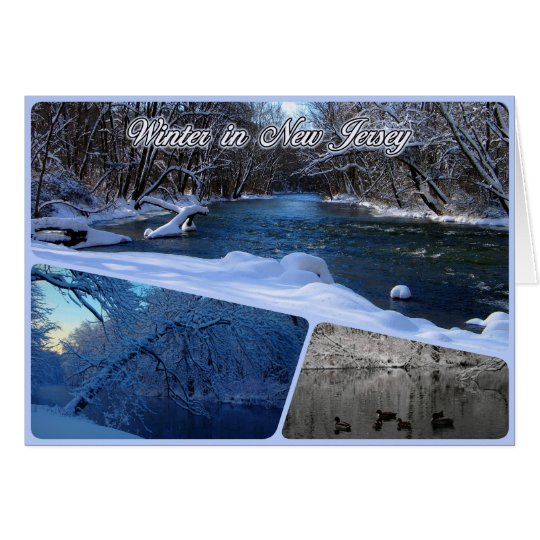 Winter in New Jersey Card