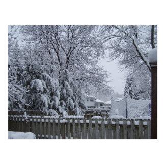 Winter in New Jersey Postcard