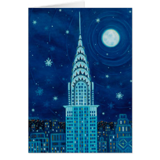 Winter in New York City Card