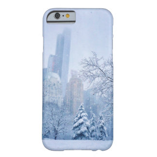 Winter In New York City's Central Park Barely There iPhone 6 Case