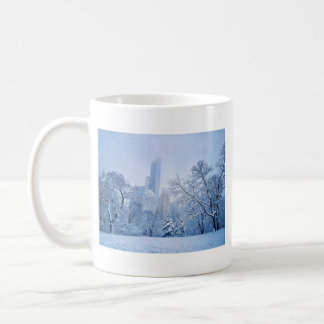 Winter In New York City's Central Park Coffee Mug