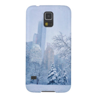Winter In New York City's Central Park Galaxy S5 Cases