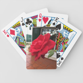 Winter in Portugal Bicycle Playing Cards