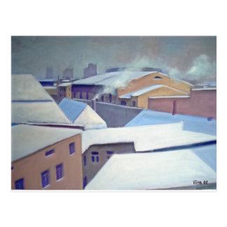 """""""Winter in Tallinn"""" Postcard"""