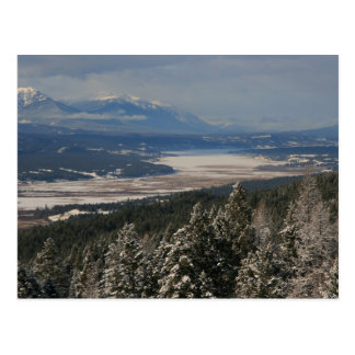 Winter in the Columbia Valley Postcard