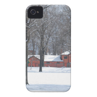 Winter in The Park Case-Mate iPhone 4 Cases