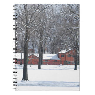 Winter in The Park Notebook