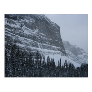 Winter in the Rockies Postcard