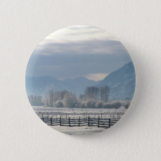 Winter in the valley 2 inch round button