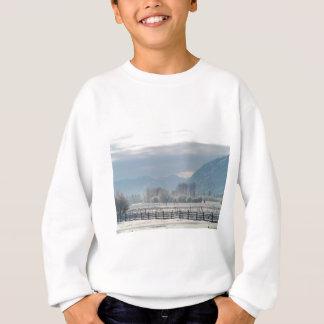 Winter in the valley sweatshirt