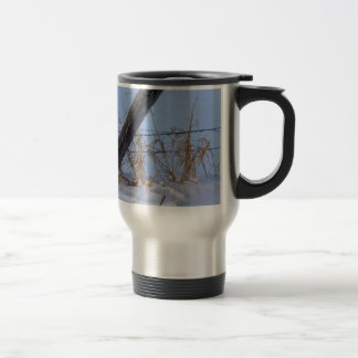 Winter is here in Keremeos Travel Mug