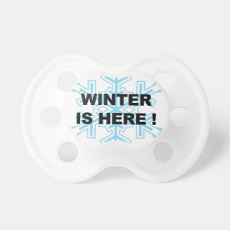 Winter is Here! Liberal Snowflake Pacifier