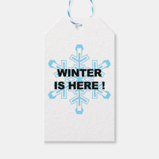 Winter is Here! Liberal Snowflake Pack Of Gift Tags