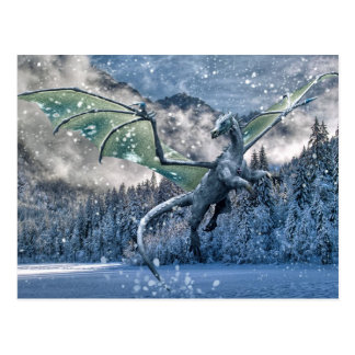 Winter Is Here Postcard