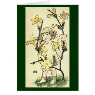 Winter Jasmine Greeting Card