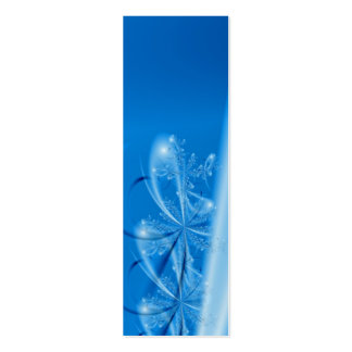 Winter Joy Bookmark Business Card