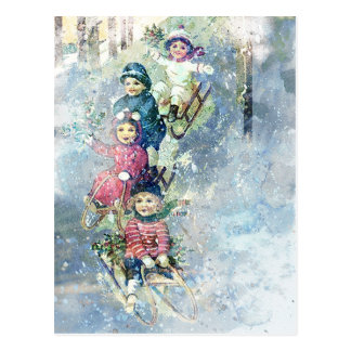 WINTER JOY POSTCARD