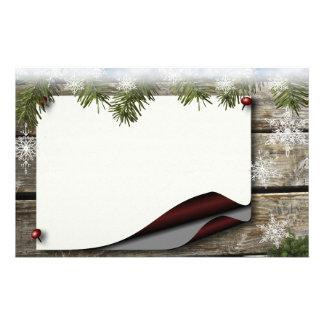Winter Joy Stationary Custom Stationery