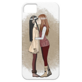 Winter kisses Phone Case iPhone 5 Cases