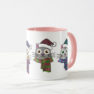 Winter Kitties Mug