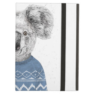 Winter koala iPad air cover