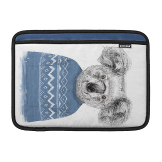 Winter koala MacBook sleeve
