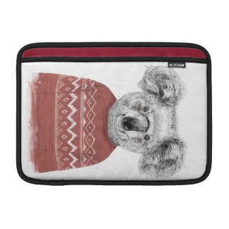 Winter koala (red) sleeve for MacBook air