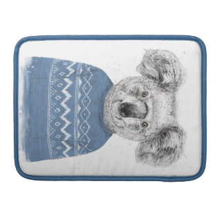 Winter koala sleeve for MacBooks