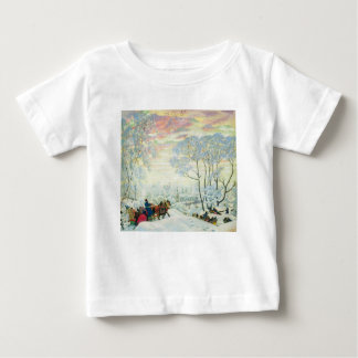 Winter._Kustodiev Baby T-Shirt