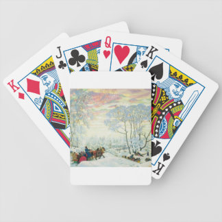 Winter._Kustodiev Bicycle Playing Cards