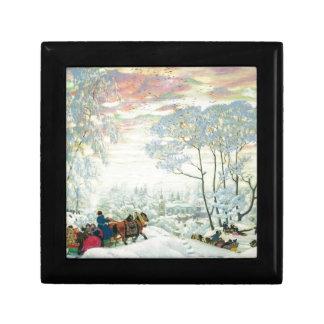 Winter._Kustodiev Gift Box