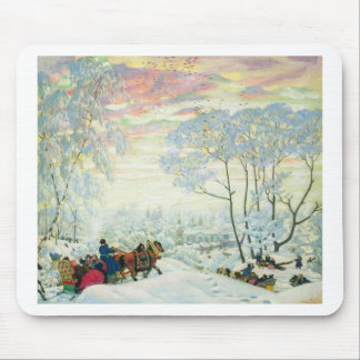 Winter._Kustodiev Mouse Pad