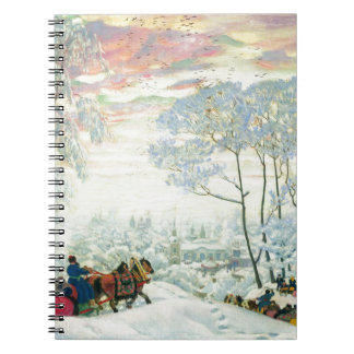 Winter._Kustodiev Note Book