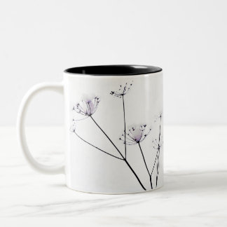 Winter Lace Two-Tone Coffee Mug