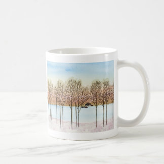 Winter Lake Coffee Mug