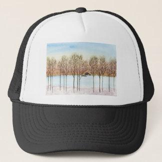Winter Lake Trucker Hat