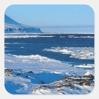 Winter Landcaster Sound Canada Stickers
