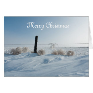 Winter Landscape Christmas Card
