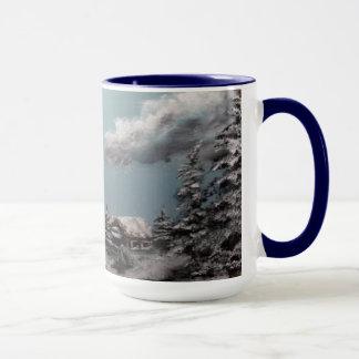 Winter Landscape  coffee cup