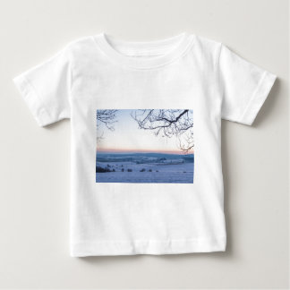 Winter landscape in Germany in the morning Baby T-Shirt