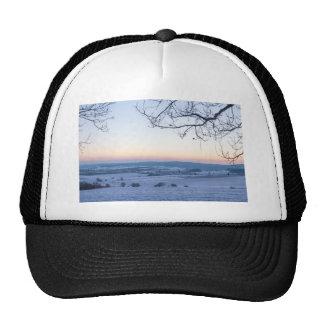 Winter landscape in Germany in the morning Trucker Hat