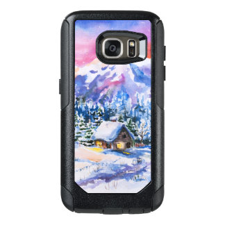 Winter landscape OtterBox samsung galaxy s7 case