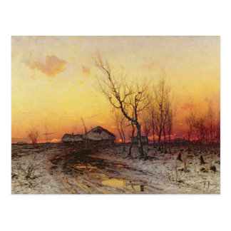 Winter Landscape Postcard
