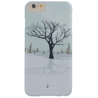 Winter landscape, tree, birds iPhone 6/6s Plus Barely There iPhone 6 Plus Case